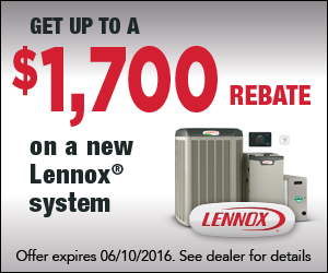 Lennox Rebates