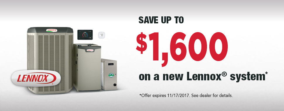 Lennox HVAC Heating Rebate Savings