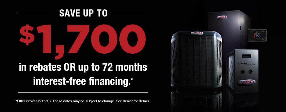 Lennox Spring Promotion - Clark's Heating & Air