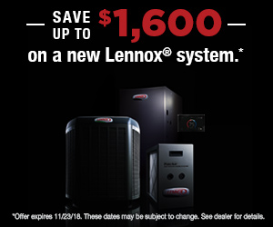 Lennox Air Conditioning & Furnace Rebates Corona CA - HVAC Specials Inland Empire - Lucky Air - NonFinancing-18fa-300x250